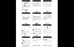 Calendario laboral Gipuzkoa 2021
